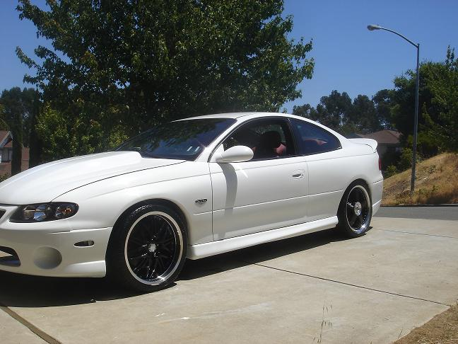 My White Gto In Progress Ls1gto Com Forums