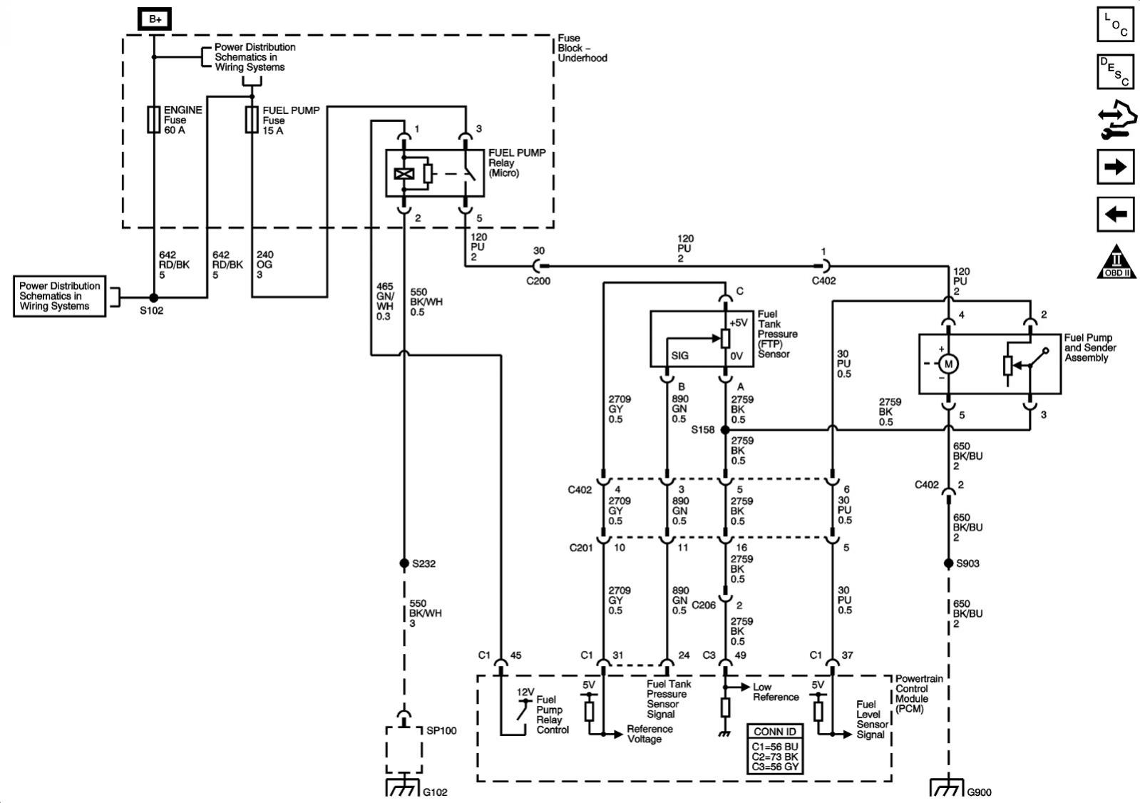 2005 gto wiring diagram