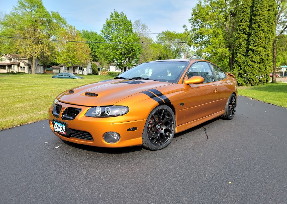 2006 Pontiac GTO / Brazen Orange Metallic