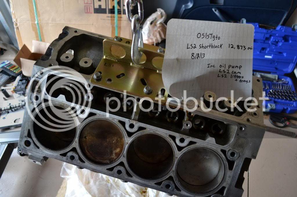LS2 Short Block + Cam, Oil Pump, Lifters | LS1GTO com Forums